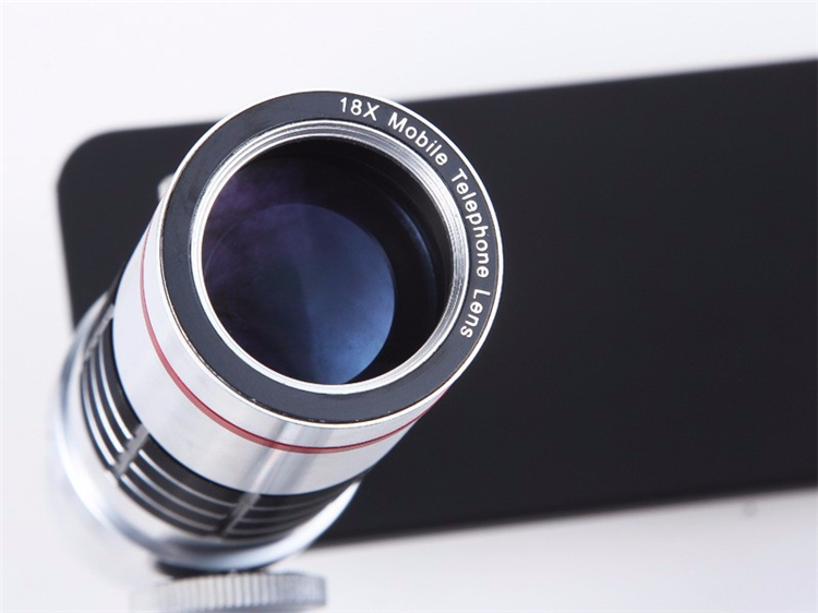 Free shipping universal clip on telephoto lens mobile phone