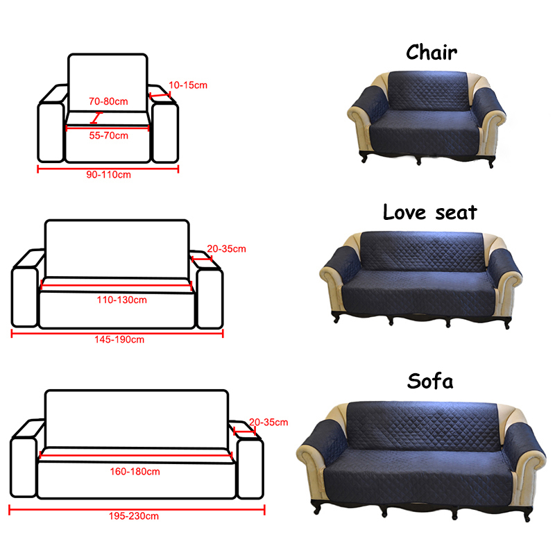 Aliexpress.com : Buy Multi size Sofa Cover with 6 Colors