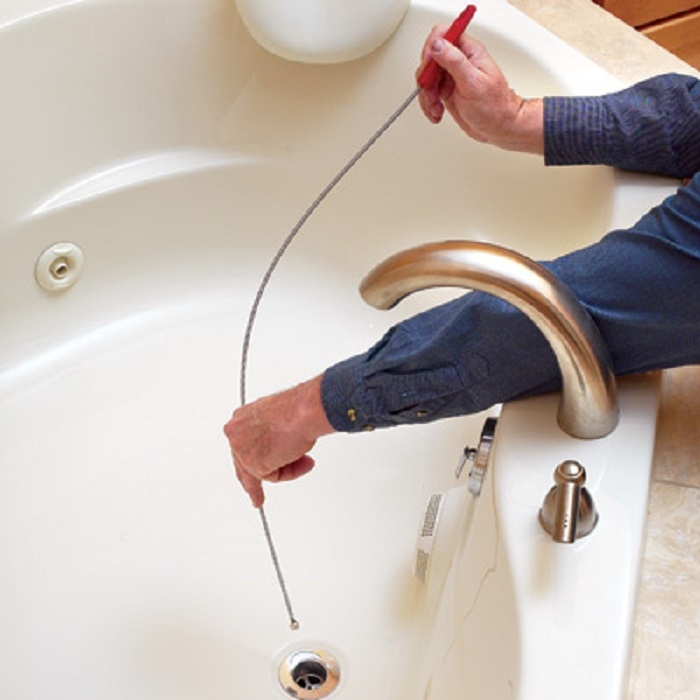unclog any clogged drain,Proper way to snake the drain